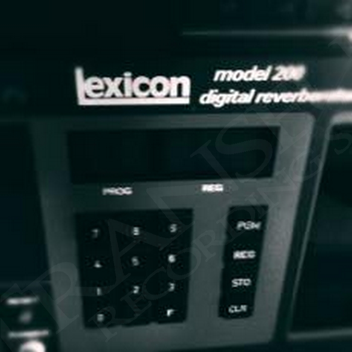 Lexicon Model 200 Digital Reverb